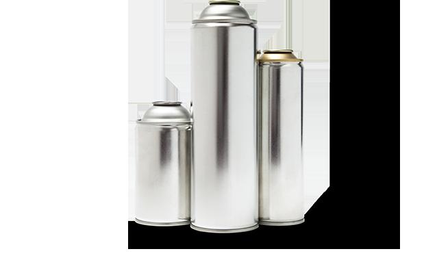 Aerosol - Steel Cans